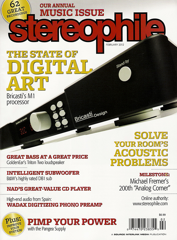 Stereophile Magazine - February 2012 - Featuring Curve