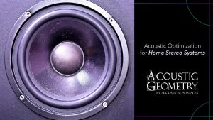 Acoustic Optimization For Home Stereo Systems By Acoustical Geometry.